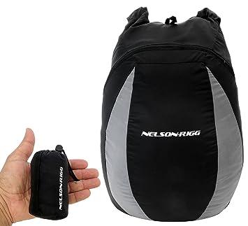 Amazon.com: Nelson Rigg CB-PK30 mochila compacta color negro ...