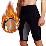 Martiount Pantalones de Sauna para Hombre Rutina de Ejercicio Pantalones Body Shaper Pantalones Cortos de Neopreno Que…