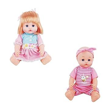 Amazon.es: MagiDeal Muñeca Recién Nacida de Silicona Muñeca de Bebé ...