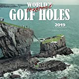 World s Toughest Golf Holes 2019 12 x 12 Inch Monthly Square Wall Calendar by Wyman, Golfing Outdoor Sport