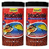 Tetra 77063 TetraCichlid Floating Pellets, 12-Ounce