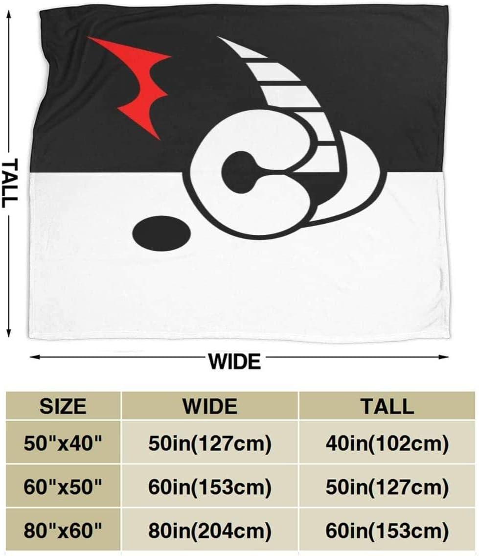 Super Flannel Fleece Blanket Mniunision Danganronpa-Monokuma Soft Warm Blanket