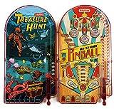 Schylling Classic 10'' Pinball Games Treasure Hunt & Hi-Score Pinball Gift Set Bundle - 2 Pack