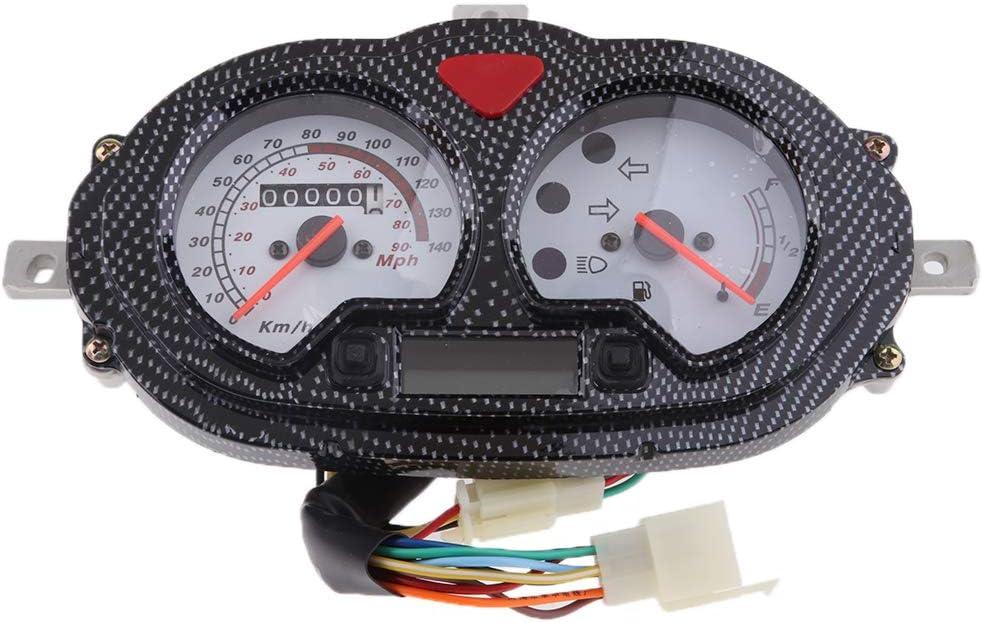 Homyl Instrument de Tableau de Bord de Compteur de Vitesse de Moto Scooter