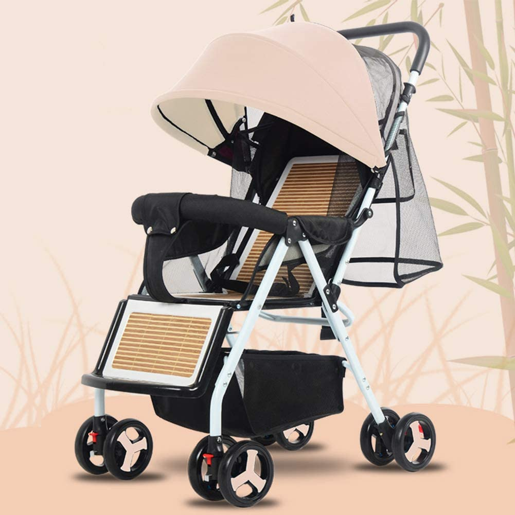 Silla Plegable Ligera,stroller Lavable Baby Discovery Four Seasons Universal Baby Stroller-d