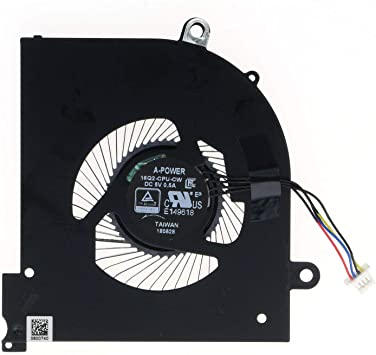 HK-part Ventilador de Repuesto para MSI GS65 GS65VR Laptop MS-16Q2 ...