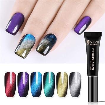 Amazon.com: UR SUGAR - Esmalte de uñas de gel para ojos de ...