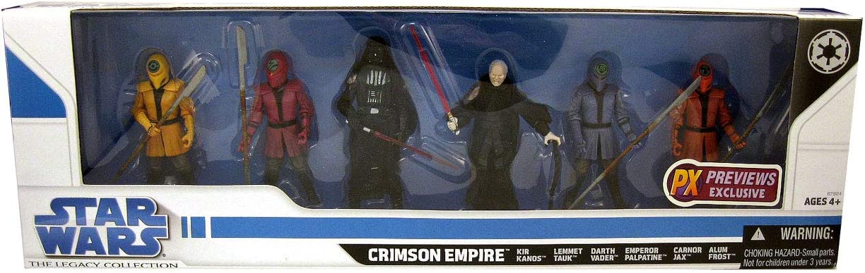 STAR WARS CRIMSON EMPIRE SET THE LEGACY COLLECTION FIGURE PREVIEWS EXCLUSIVE