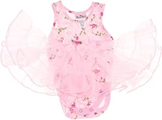 product image for Laura Dare Baby Girls' Pink Roses Nightgown