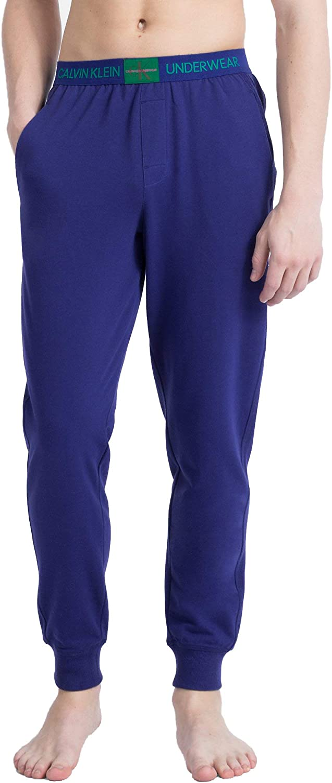 Calvin Klein Sleepwear Mens Monogram Logo Jogger Pants
