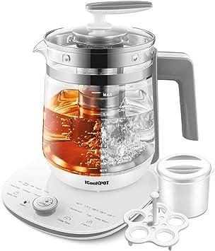 ICOOKPOT Glass Tea Kettle