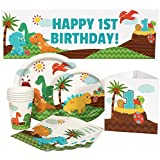 Little Dinosaur 1st Birthday Party Package for 16 Guests