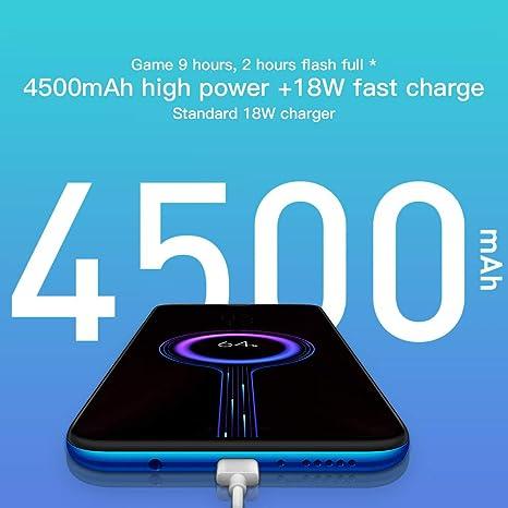 Processeur MTK Helio G90T Octa-Core Orange 6,53 Plein /Écran 128 Go de ROM 20MP Avant et Cam/éra Arri/ère 64MP Version Globale Xiaomi Redmi Note 8 Pro Phone 6 Go de RAM