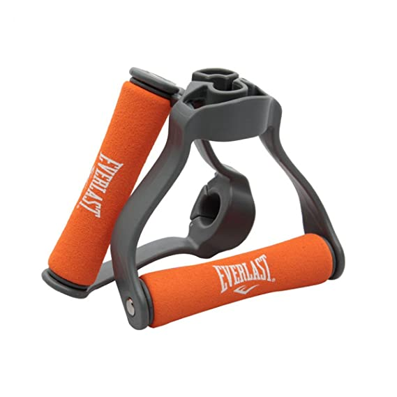 Everlast CL2095 Single Tube Handle without Resistance Tube  Grey/Orange  Accessories