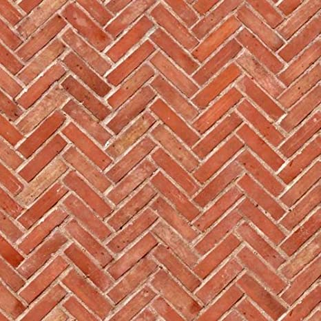 Dolls House Miniature New Rough Brown Brick Pattern Cladding