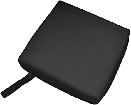 Bleacher Seat Cushion Stadium Chair Pad Outdoor Sports Bucket Ground Pad Black
