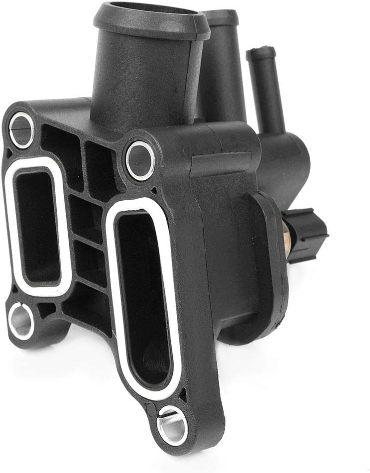 GZYF 1PC Engine Coolant Thermostat Housing Water Outlet Pipe Fits 2001-2006 Chrysler Sebring /& Dodge Stratus 2.7L