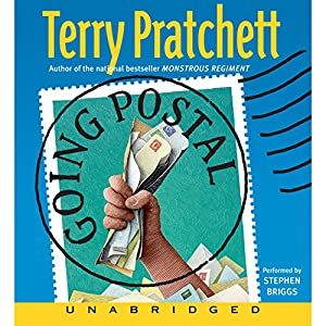 Going Postal: Discworld #29 Audiobook
