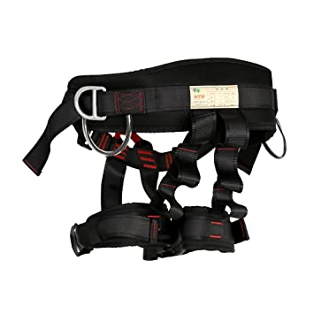 Rock Tree Climbing Harness Sitting Bust Waist Belt Safety Seat ...