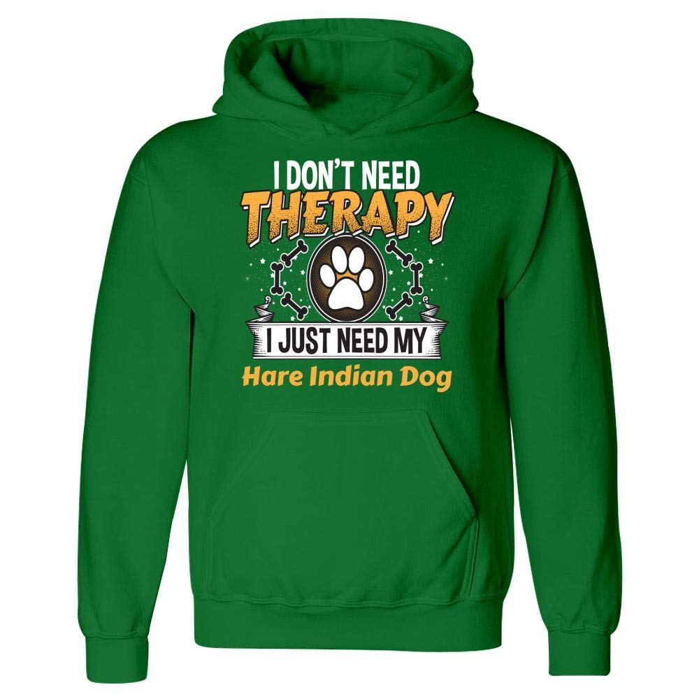 Hoodie Funny Hare Indian Dog Dog Therapy Gift Cute Puppy Paw