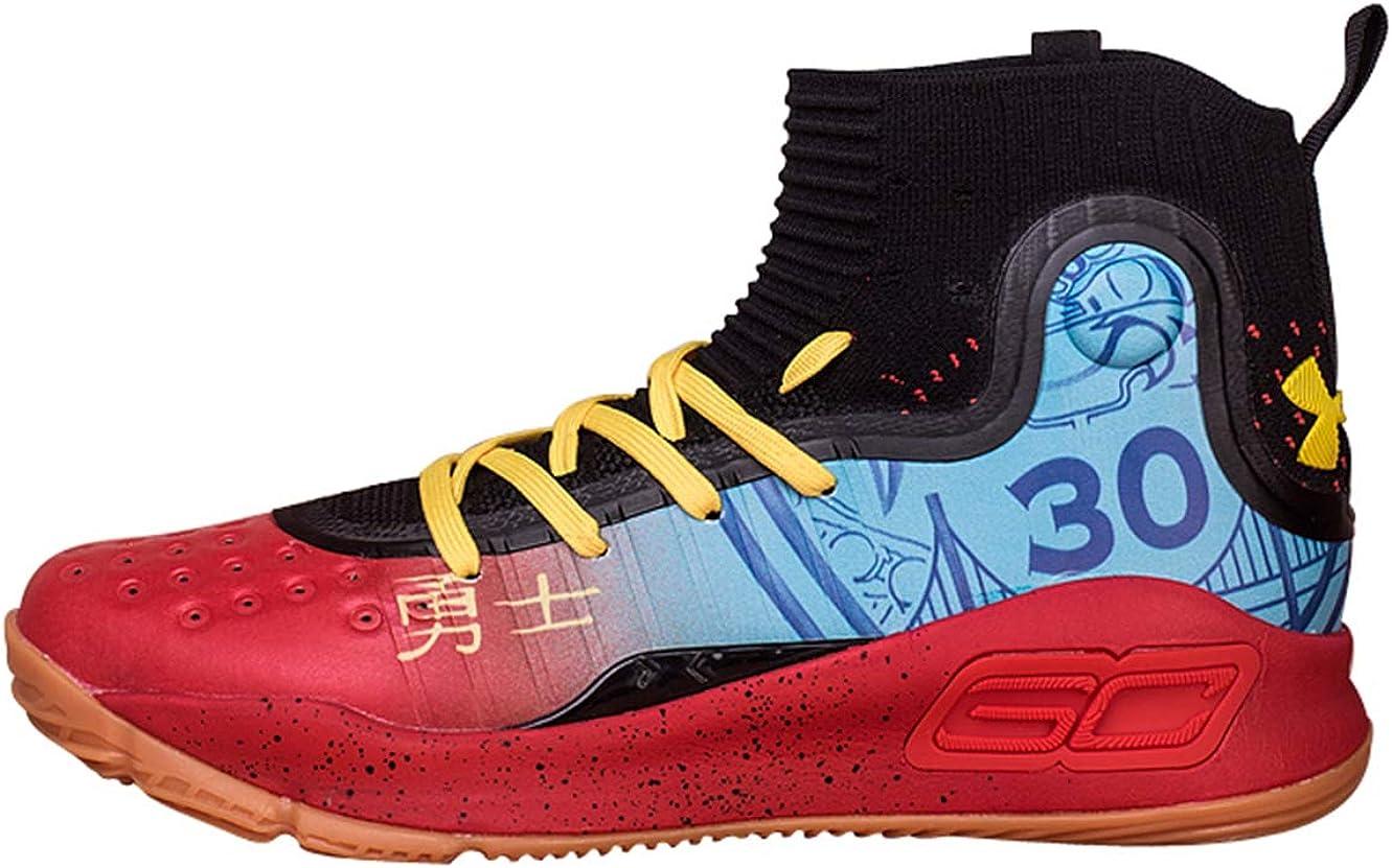 neumático microscopio Fructífero  Vinetop Men's Under Armour UA Curry 4 High Basketball Shoe 7 M US Black:  Amazon.ca: Shoes & Handbags