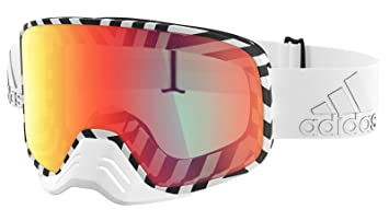 ADIDAS Brille Skibrille Googles ad84 BACKLAND Dirt White