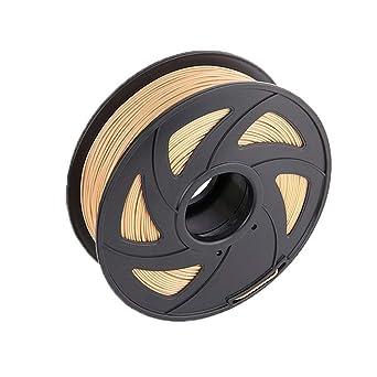 HAWKUNG 1,75 mm 3D Impresora de Madera de Filamentos, Bobina 1 kg ...