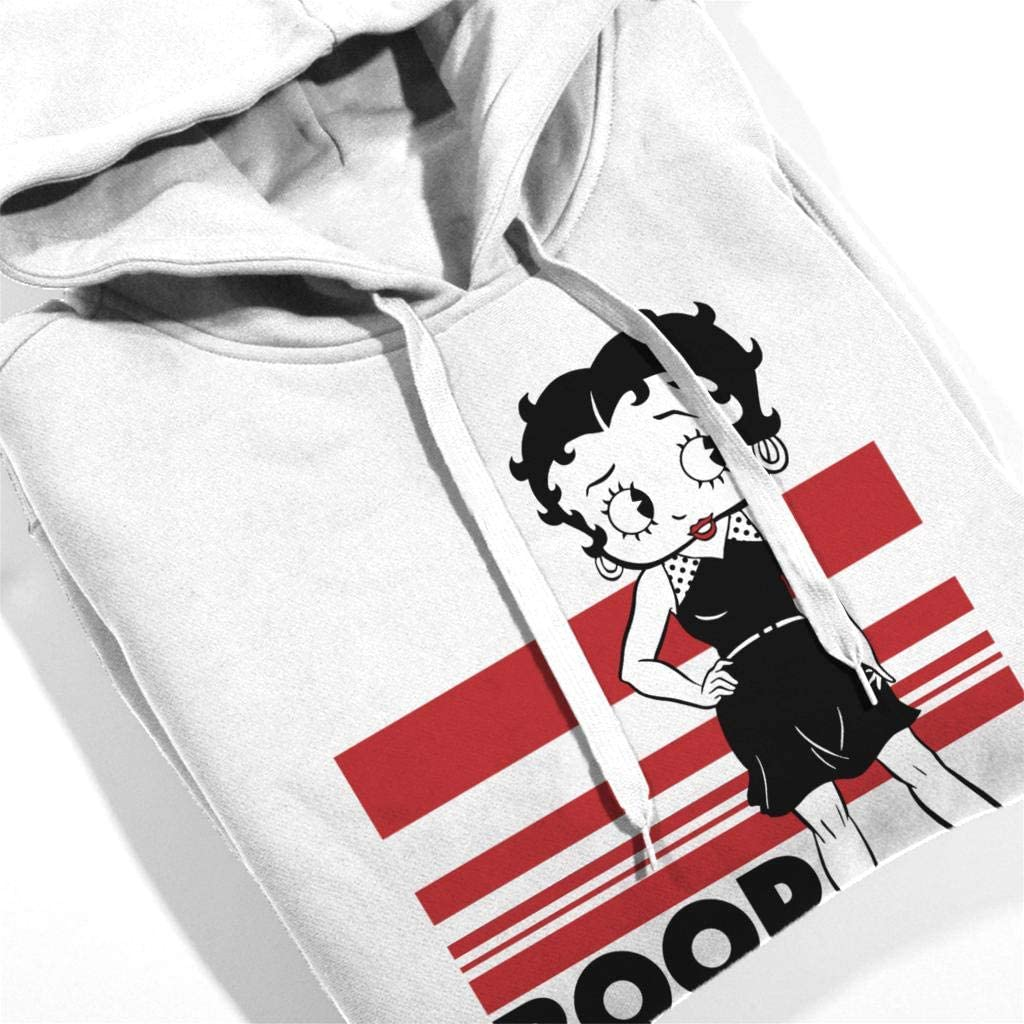 Comics Kingdom Betty Boop Power Pose Mens Hooded Sweatshirt