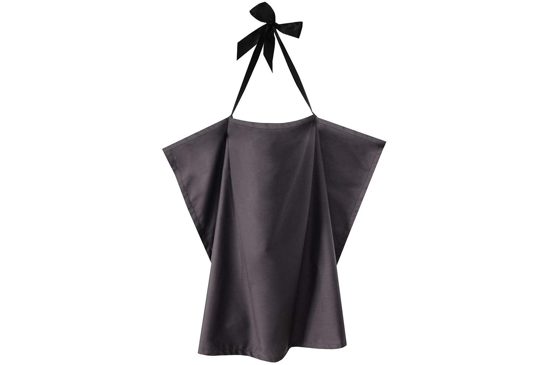ZELLMOPS StilltuchRelax für diskretes Stillen, grau, Basic Size, mit eingenähter Tasche, Handarbeit aus Deutschland mit eingenähter Tasche