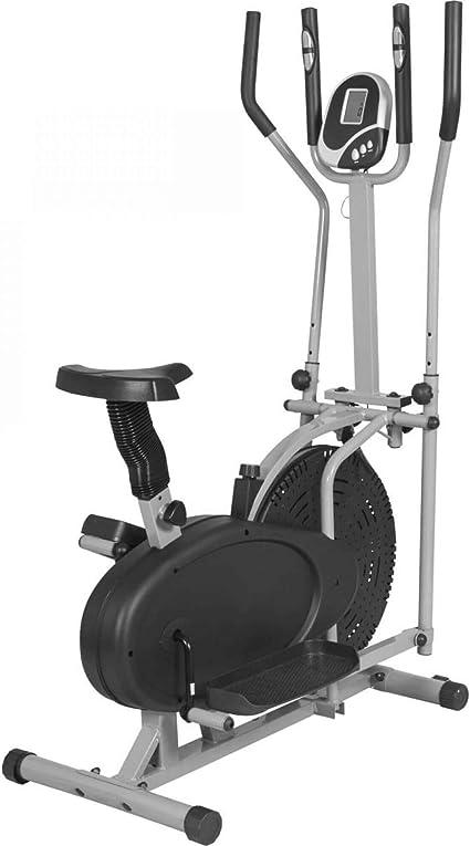 Gorilla Sports - Bicicleta estática y elíptica 2 en 1: Amazon.es ...