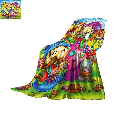 Amazon.com: KidsCartoon estilo noche cielo con nubes ...