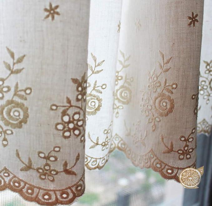"""Estación textil 58/"""" Marfil Floral del Damasco Jacquard Seda Sintética Tela De Cortina De Novia"""