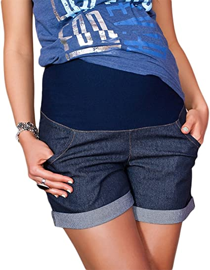 Pantaloncini premaman con fascia addominale Nitis
