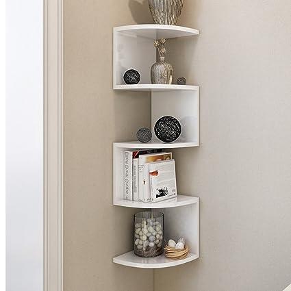 Mensola a muro fai da te soggiorno camera da letto parete angolo ...