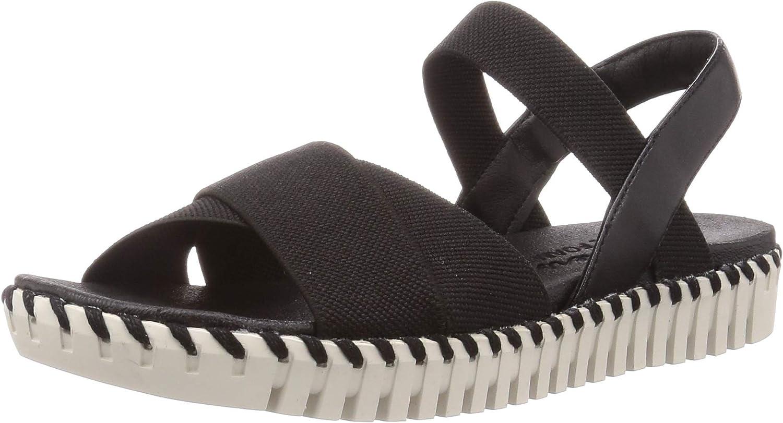Skechers Women's Cross Strap Flat Sandal