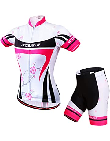 6f0e7f2c6 Cycling Jersey Women Aogda Bike Shirts Bicycle Bib Shorts Ladies Biking  Pants Tights Clothing