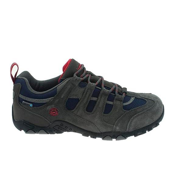 Hi-Tec Quadra WP Zapatillas Trekking Senderismo Montaña para Hombre (45 EU): Amazon.es: Zapatos y complementos