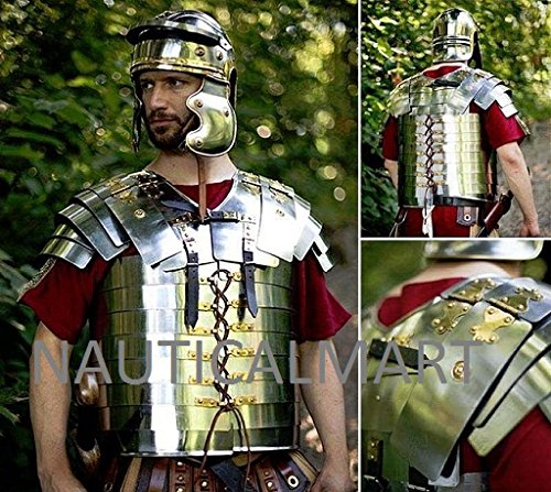 Medieval Lorica Segmentata Roman Legionnaires Medieval Armor Breastplate By Nauticalmart by NAUTICALMART