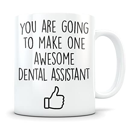 Dental Assistant Graduation Gifts - Future Dentist Assistant Graduates - Dentistry Coffee Mug for Men and
