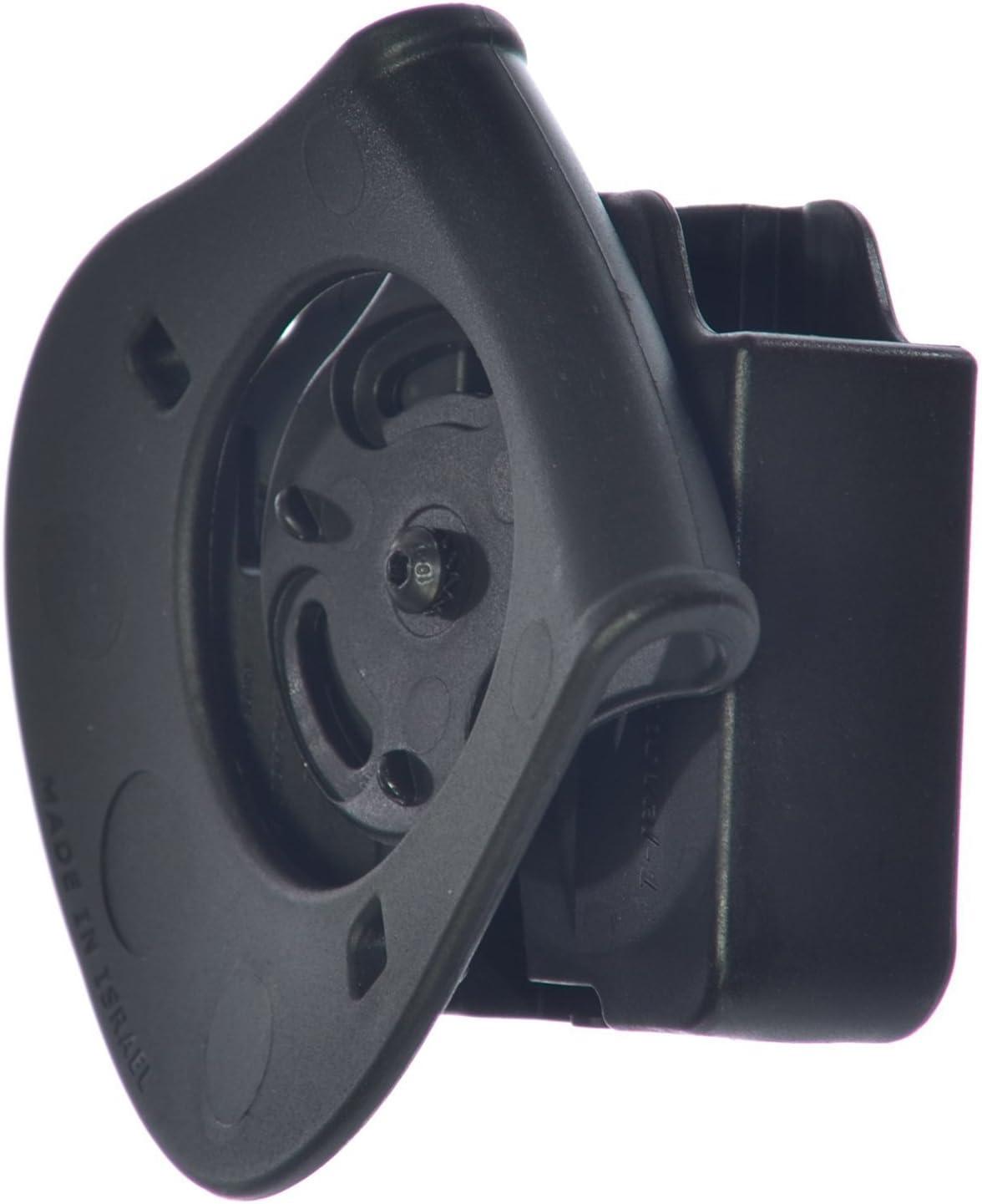 BUL M-5 45C 45 Orpaz Defense Ceinture//Paddle Tactique Porte-Chargeur Double tournat roto Magazine Pouch Holster /étui pour Heckler Koch H/&K HK P30 // USP Compact 9 // .40 // USP