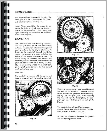 Massey Harris Pony Tractor Service Manual (Massey Pony Harris)