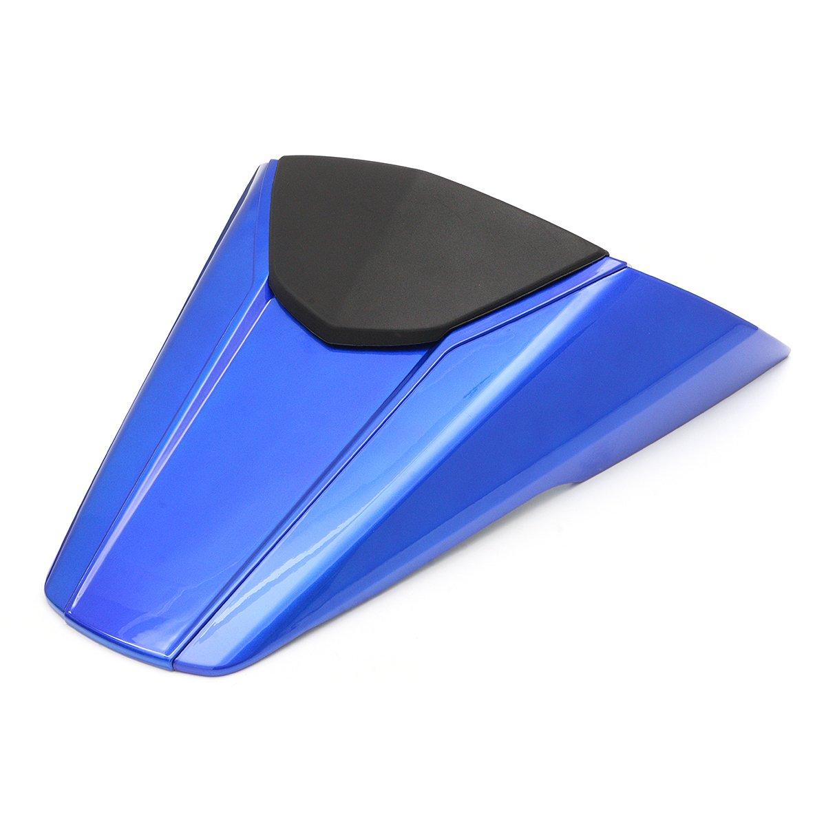 Alamor Cubierta de la capucha del asiento trasero de la motocicleta para Honda CB650F CBR650F 2014-2015 BS1 Azul