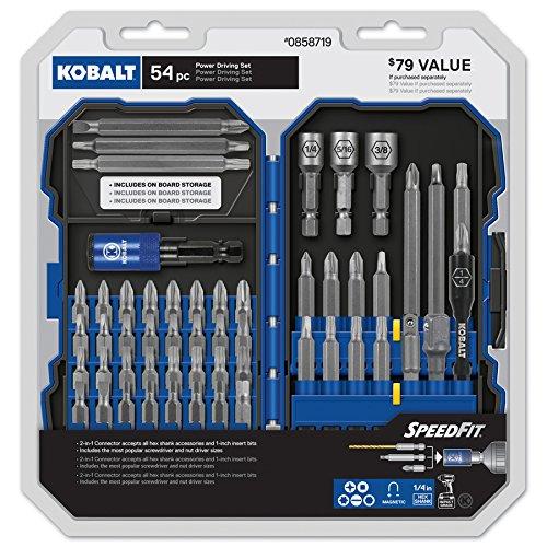 Kobalt 54-Piece Screwdriver Bit Set