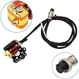 Starall 3D Drucker Extruderteile Extruder Hotend Komplettsatz Kit 0.4mm Nozzle MK8 Extruder Kit for Creality CR-10