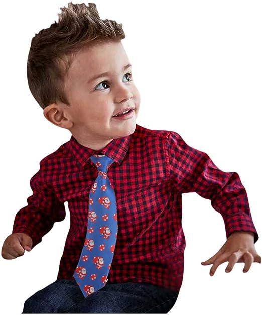 FBGood Disfraz de niño – Corbata Delicada de Manga Corta y a ...