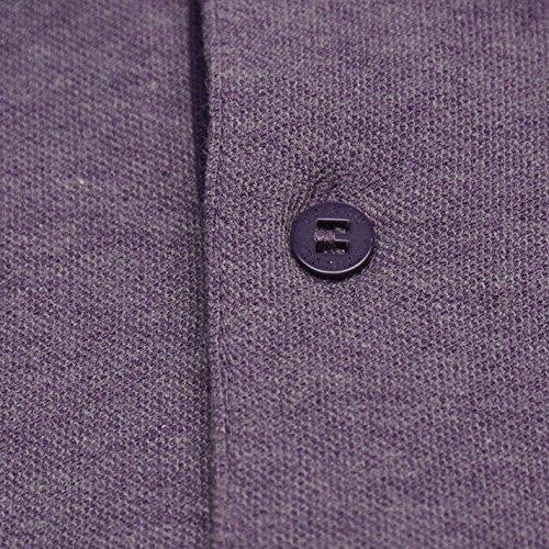 Camicia Marl Slazenger Viola Polo Tipped Uomo 5wxxT8q1S