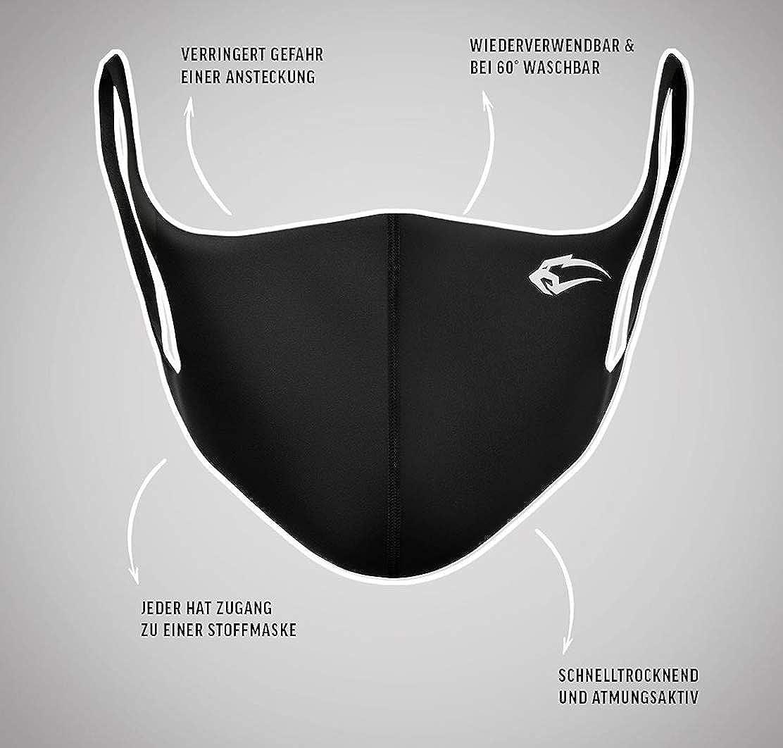 wiederverwendbare und waschbare und Nasen Bedeckung Staub Mundtuch Fashion Unisex SMILODOX Behelfs Mund