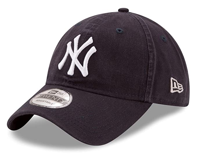 f0ec0a51764856 New Era New York Yankees 9Twenty MLB Core Classic Adjustable Hat - Navy