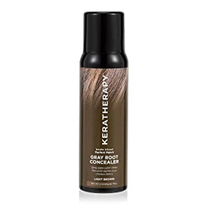 Keratherapy Keratherapy Perfect Match Gray Root Concealer Light Brown 3 Oz, 3 Oz
