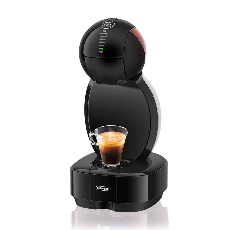 Nescafé Dolce Gusto Colors EDG355.B1 Bianco Macchina per Caffè Espresso e Altre Bevande in Capsula Con 48 capsule in omaggio, nero De' Longhi EDG 355.B1